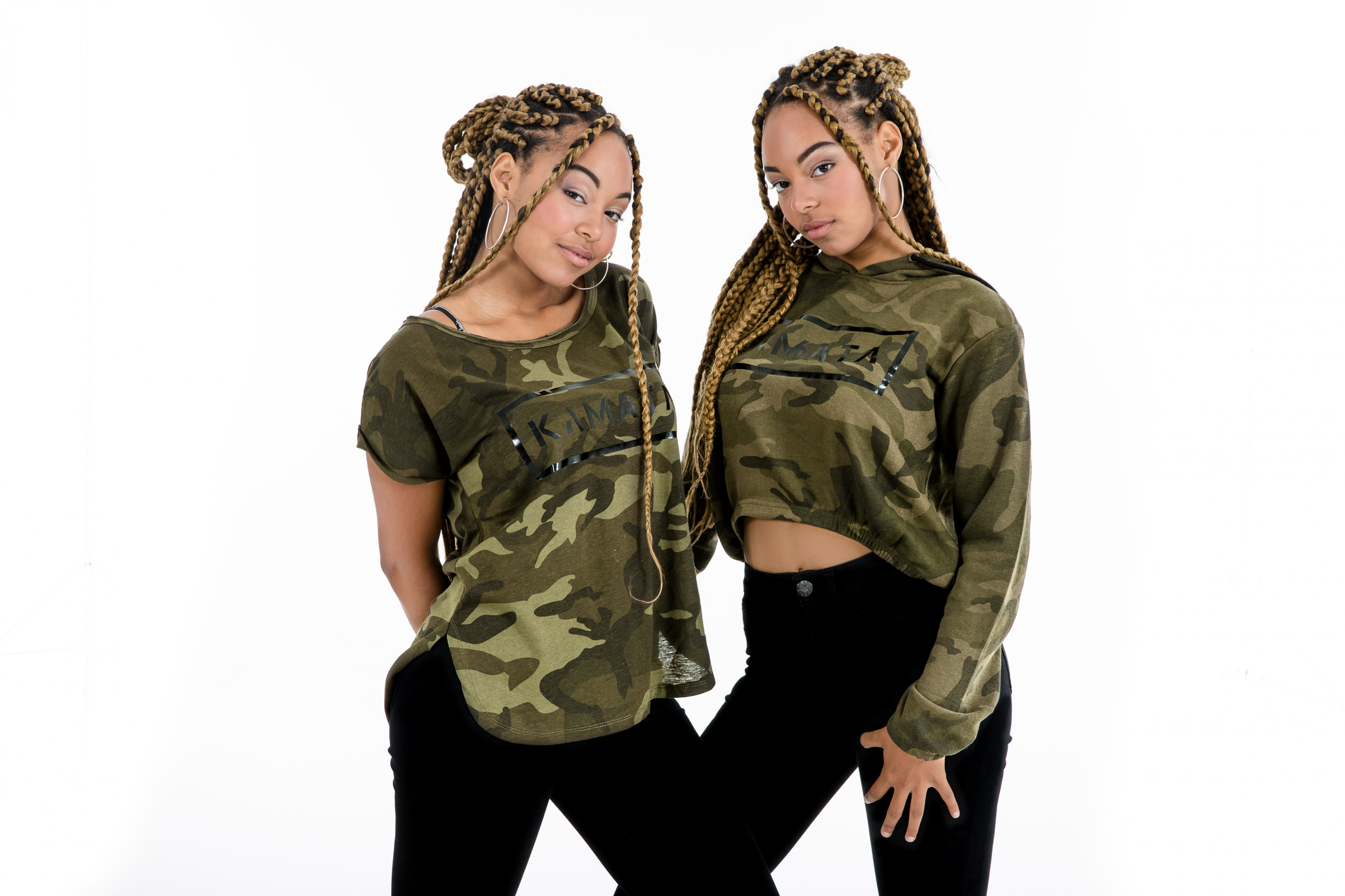 7b63a67b Lady Military Cropped Hoodie | Kamata - Dance Events & Competitions